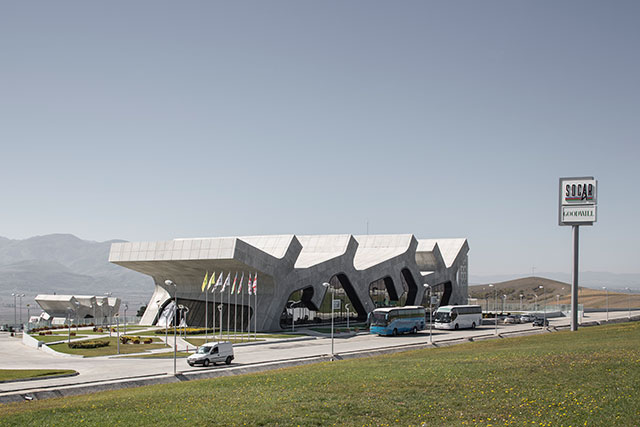 Highway service station, Gori, Georgia, Photo: Marcus Buck