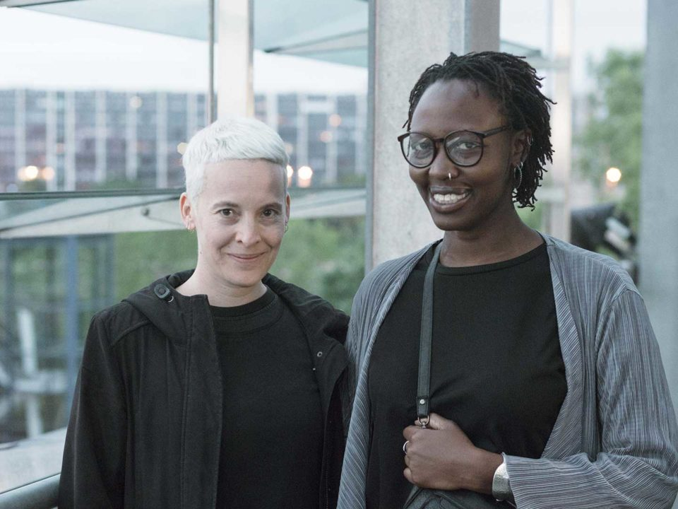 Candice Breitz and Renée Akitelek Mboya