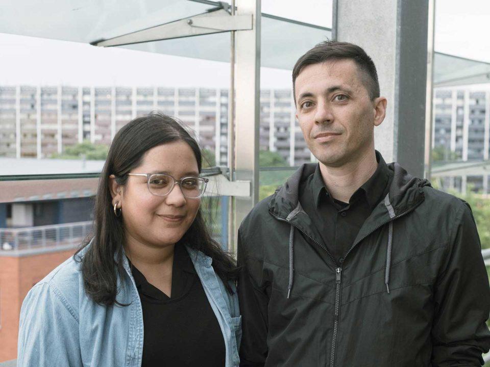 Sue Montoya and Paolo Cirio