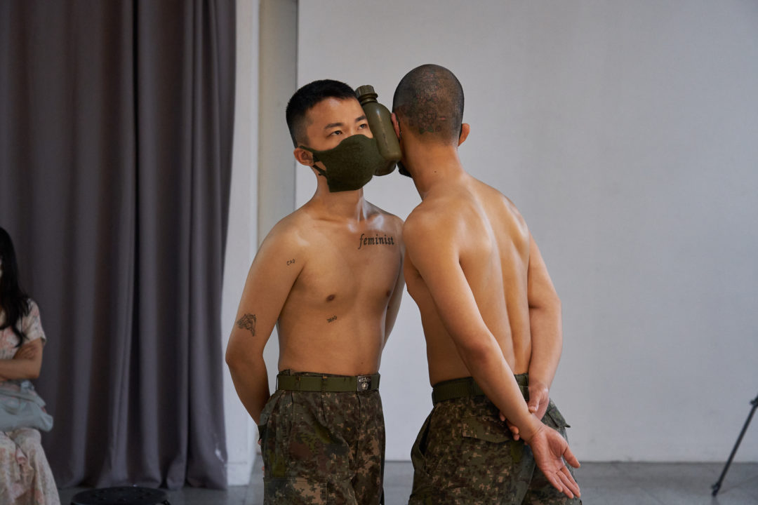 Isaac Chong Wai, Disguised Camouflage (2020). Courtesy of Post Territory Ujeongguk